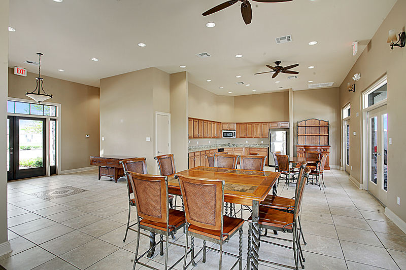 The community center's full kitchen is available when renting the community center for a special event or party.