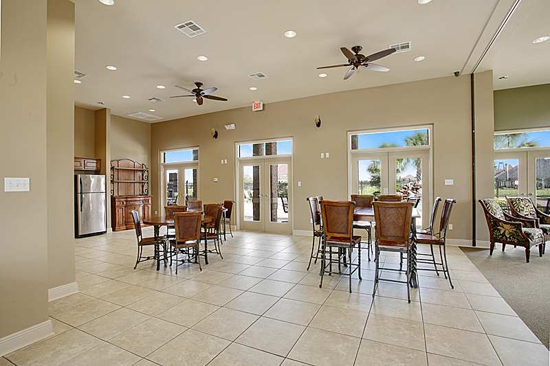 The community center is available for rental for parties and special events.